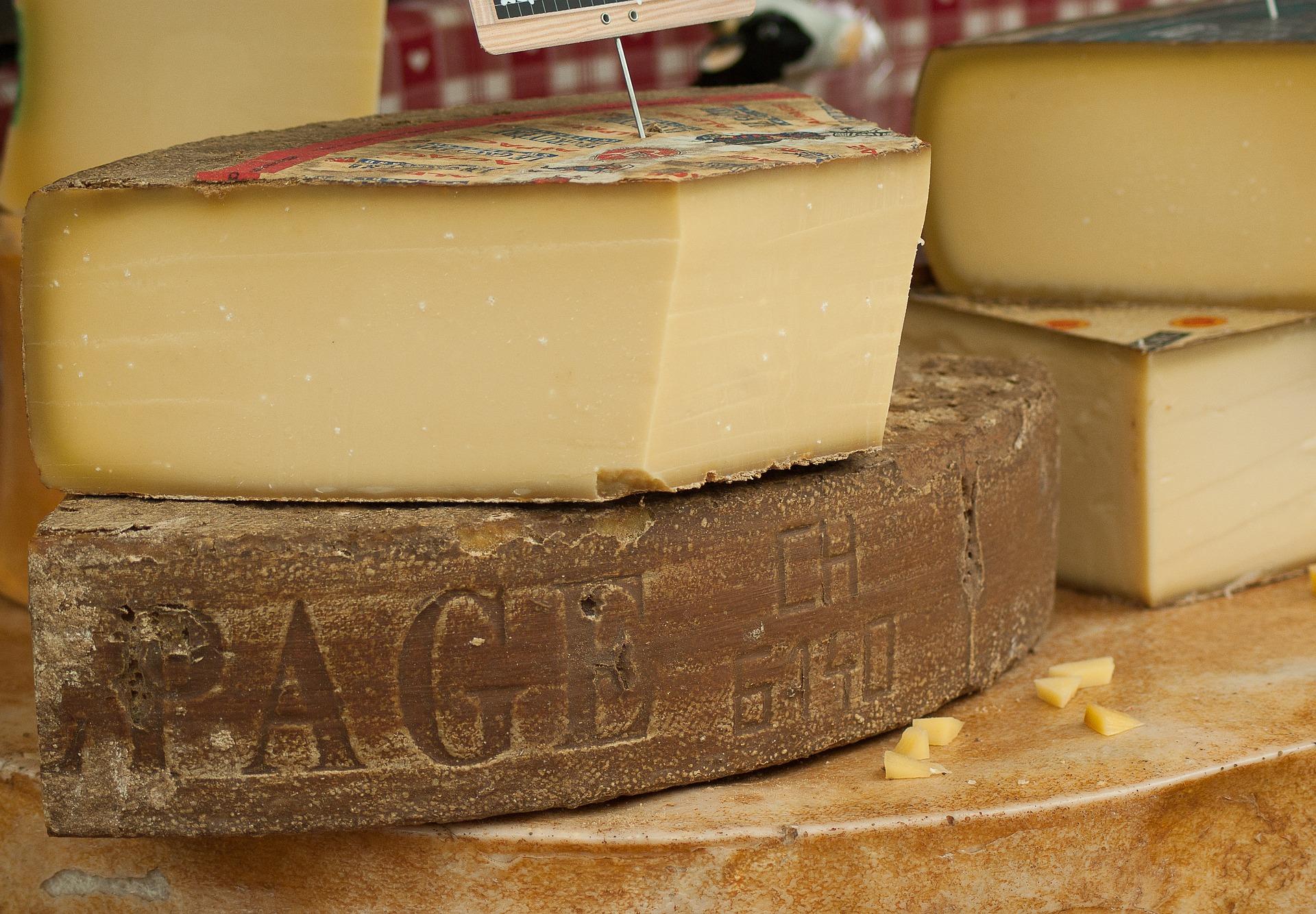 Gran assortit de formatges